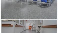 Hastane Okul Zemin Kaplamaları